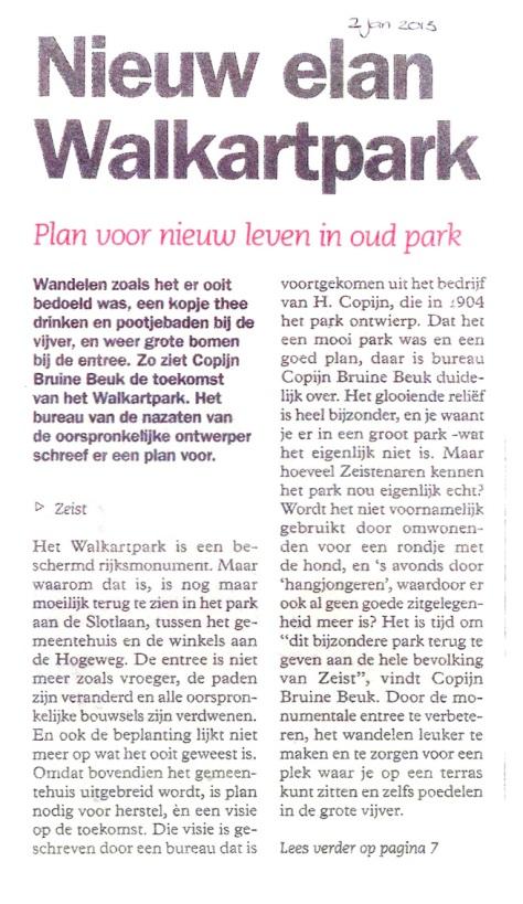 Artikel Walkartpark 1